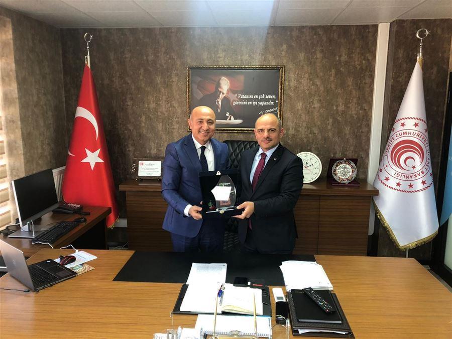 Körfez Belediye Başkanı Sayın Şener Söğüt, Müdürlüğümüzü ziyaret etti.